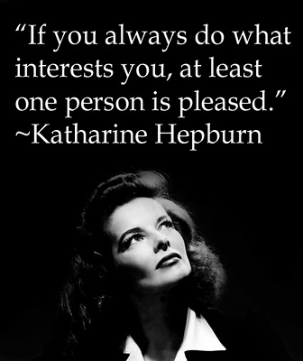 Katharine Hepburn - Happiness